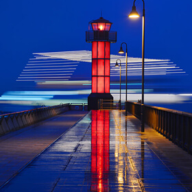Win a Prize<br>[Seto Shirube (Red Lighthouse) in the Rain] SAITO Nobuko
